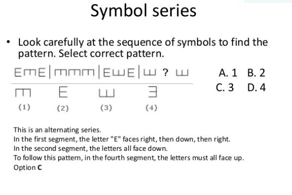 Reasoning Shortcuts : Letter and Symbol Series Tricks - Logical