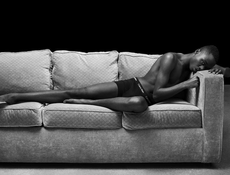 Ashton Sanders of Moonlight for Calvin Klein by Raf Simons, 2017