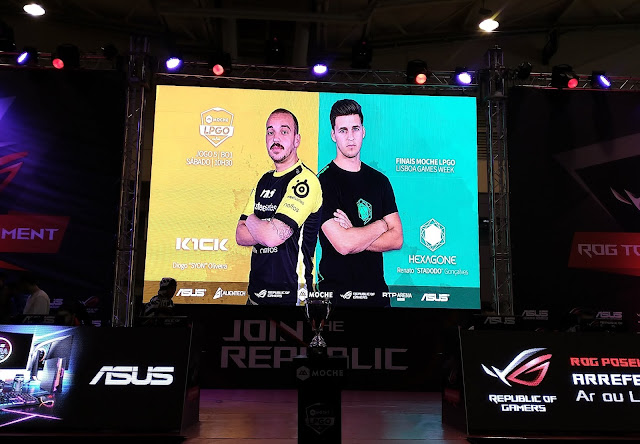 ASUS apresenta ROG Battle Royal Arena e ROG Tournament na Lisboa Games Week