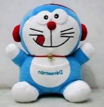 Gambar boneka doraemon lucu