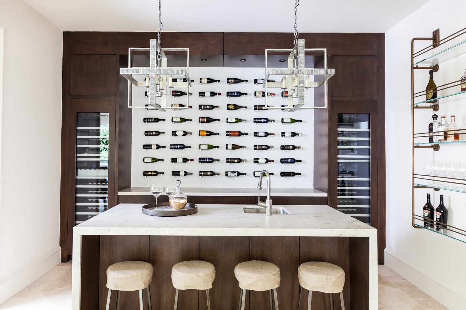Outstanding Dining Room Wine Bar Gallery - Image design house plan ...