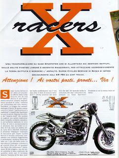 sportster street tracker on freeway magazine italia n 4 1994 pag 1