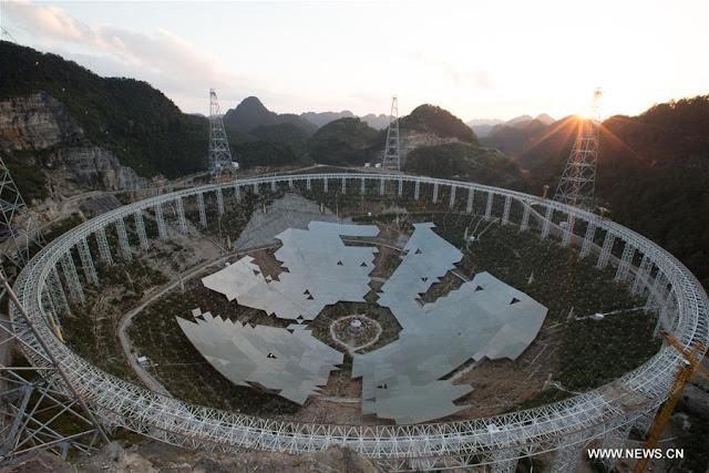 Cari Alien, China Bangun Teleskop Selebar 500 Meter