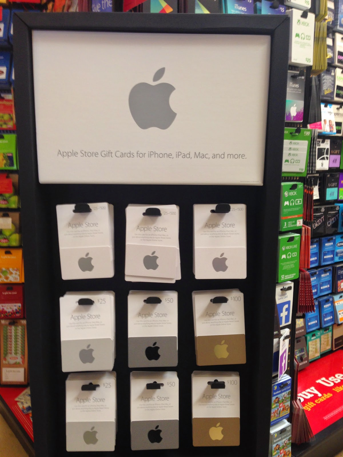 Tech Talk 4 Geeks: Apple Store Gift Cards Based on iPhone Colors