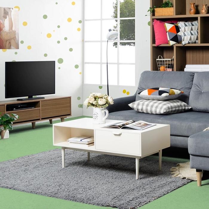 Gambar Furniture Meja Tunggal Minimalis Terbaru 2019