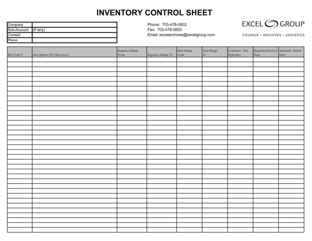 download computer inventory templates in excel excel template