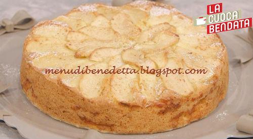 La Cuoca Bendata - Torta di mele ricetta Parodi