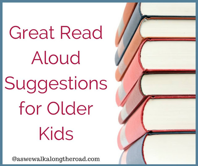 Read aloud suggestions for older kids
