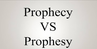 The Difference between 'Prophecy' and 'Prophesy'