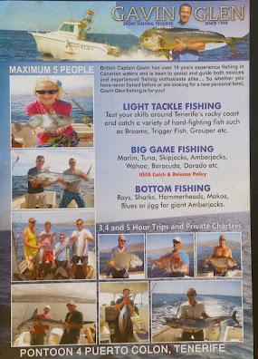 Flyer Big Game Fishing