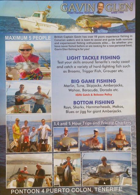 Flyer Big Game Fishing geschützte Arten