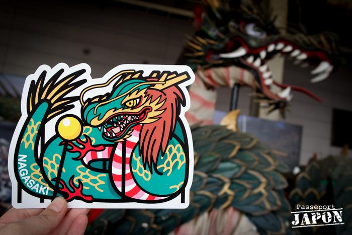 Gotochi card challenge, danse du dragon, Nagasaki