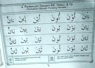 Baghdadiyah Hal 6-11 Materi Lanjutan Belajar Membaca Al Quran dengan Cepat dan Mudah