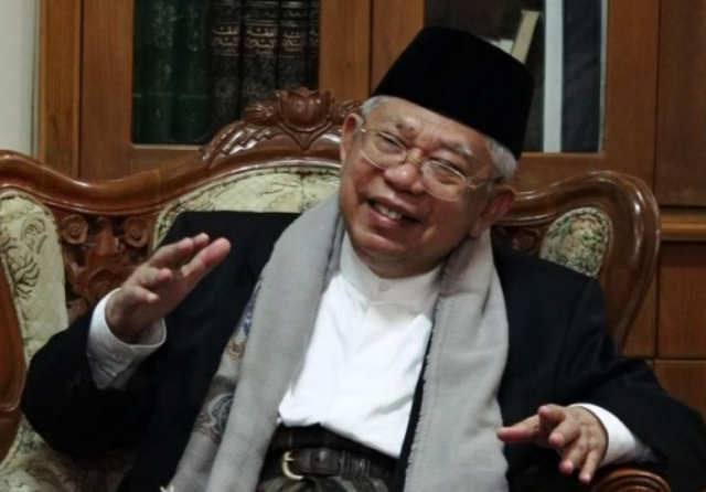 Ketua Umum MUI KH Ma'ruf Amin Imbau Habib Rizieq Patuhi Hukum