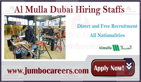 New job openings in Gulf countries, Job description of latest office job sin UAE,