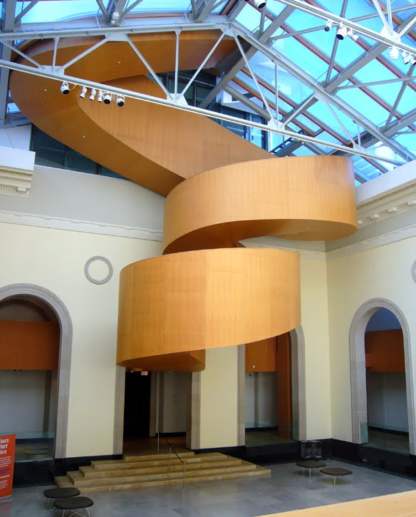 Occasional Toronto: Frank Gehry Stairs at the AGO