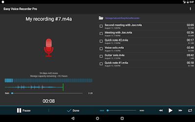 Easy Voice Recorder تطبيق قوي لتسجيل الأصوات على الإندرويد