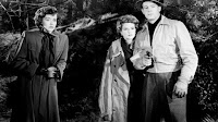 Marsha Hunt, Dennis O'Keefe and Claire Trevor in Raw Deal (1948)