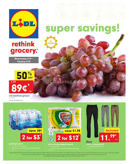 Lidl Weekly Ad September 20 - 26, 2018