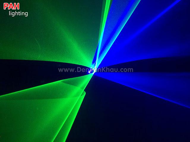 Hiệu ứng đèn Bicolor Blue Green