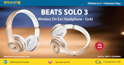 Beats Solo 3 Wireless On-Ear Headphone - Gold