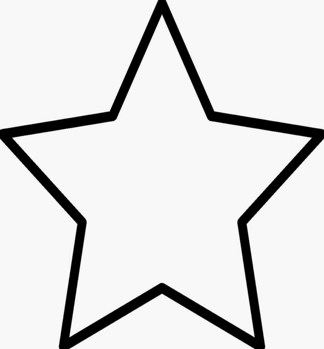 large printable star coloring pages - photo #6