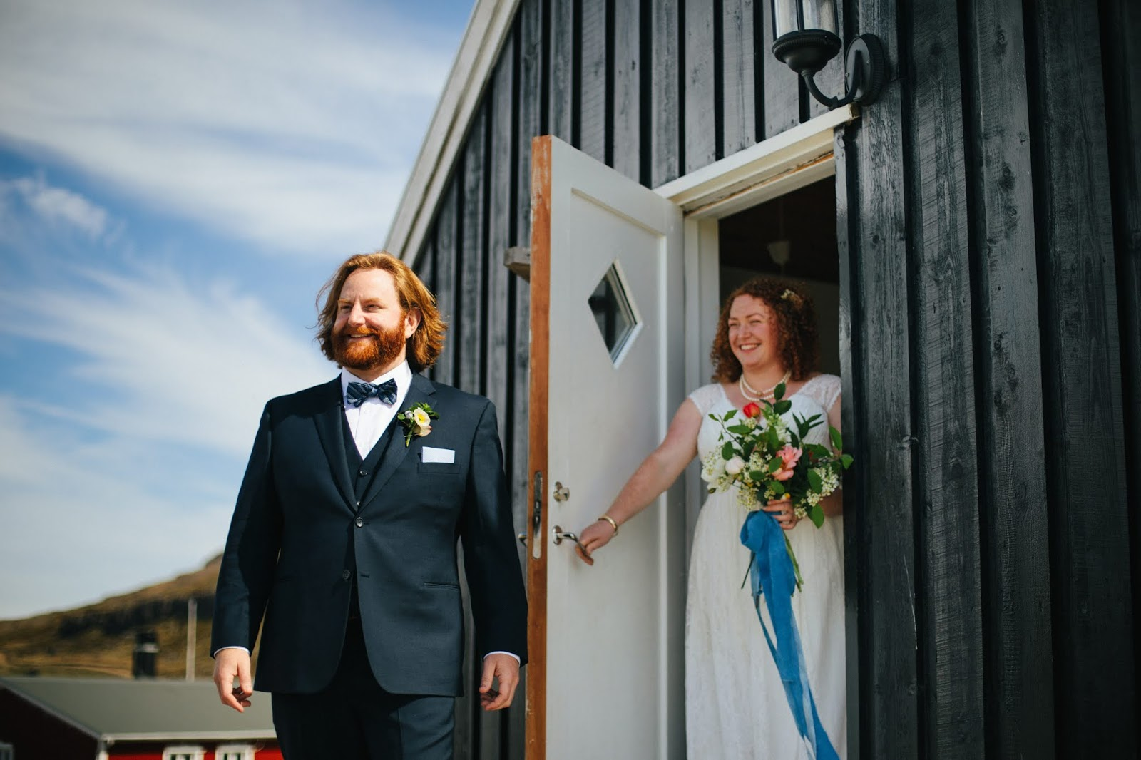 Djúpavík Iceland Wedding First Glance