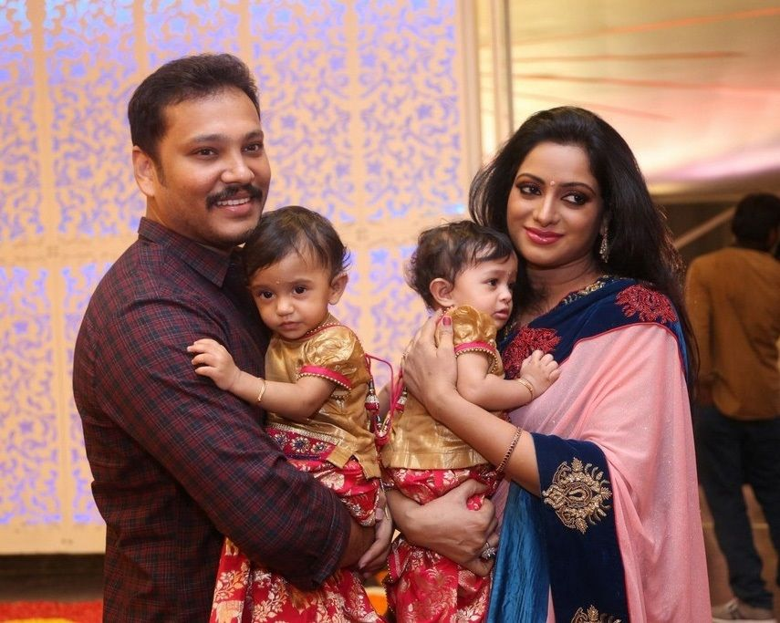 Udaya Bhanu At Shyam Prasad Reddy Daughter Wedding