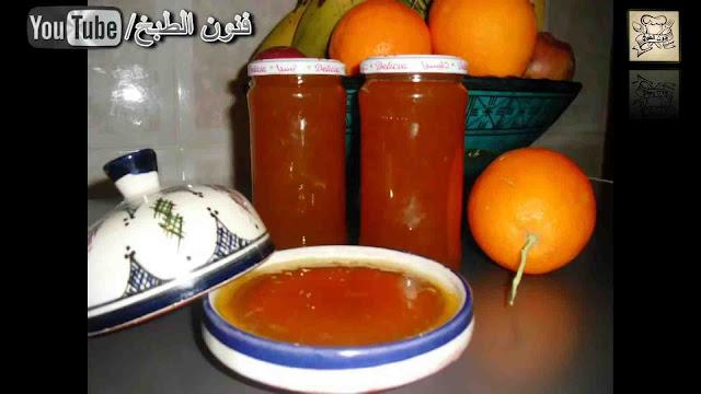 مربى البرتقال,مربى,confiture d'orange,confiture