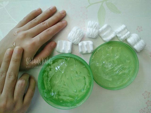 jayeon aloe vera fresh soothing & moisturising gel