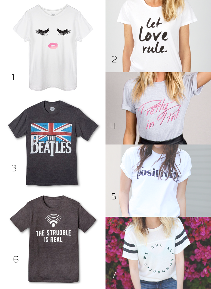 Wish List Wednesday- Graphic T's