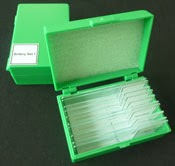 Microscope prepared slide kit