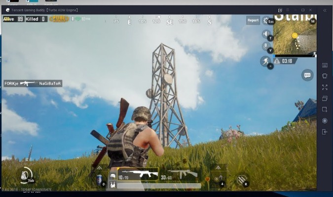 Emulator PUBG Mobile untuk PC - Tencent Gaming Buddy