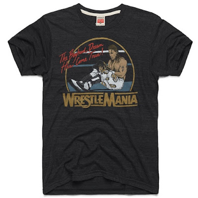 "Road to WrestleMania Week 4 – WrestleMania XII ""The Boyhood Dream"" T-Shirt by Homage x WWE"