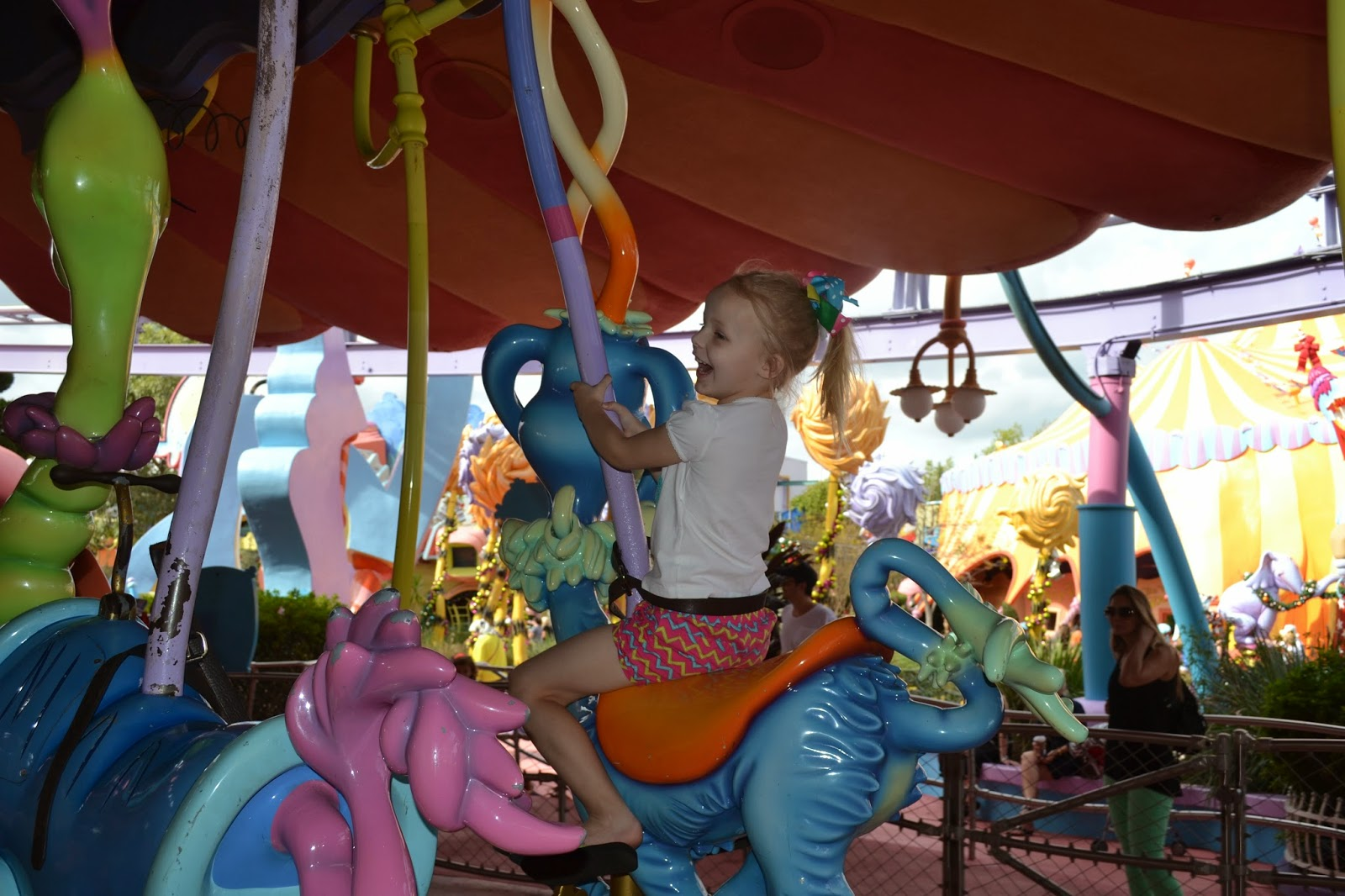 Universal - Islands of Adventure Carousel