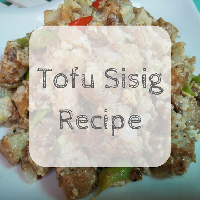 TSM Cooks: Tofu Sisig Recipe