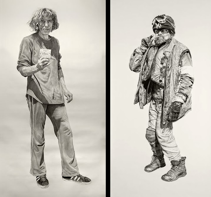 09-Steve-and-Spaceman-Joel-Daniel-Phillips-Drawings-of-forgotten-People-in-front-of-Us-www-designstack-co