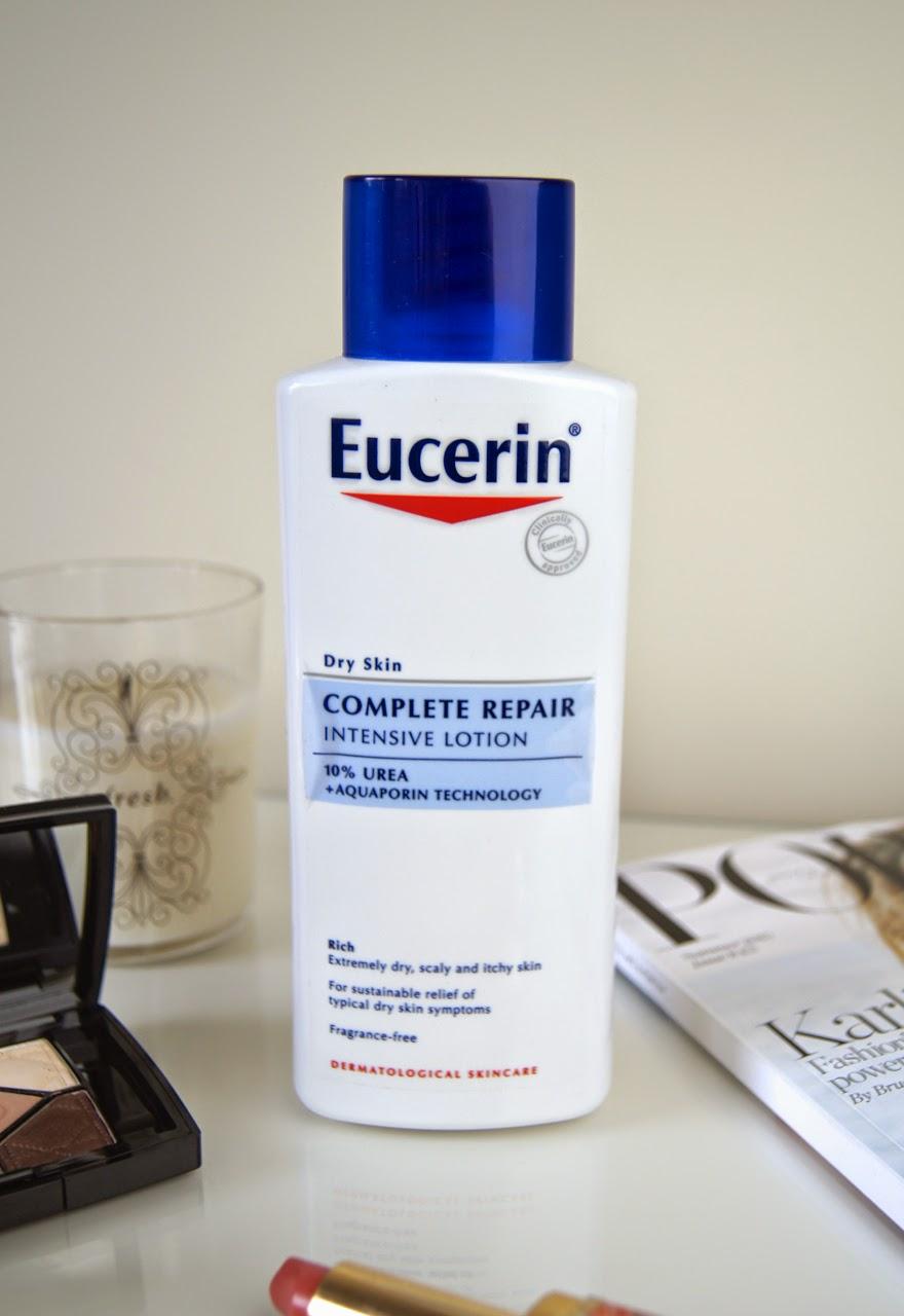 eucerin dry skin complete repair intensive lotion urea review