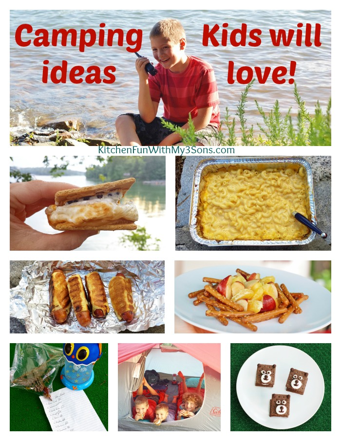 Fun Camping Ideas For Kids Camping Recipes And Fun