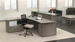 Sterling L Shaped Reception Desk