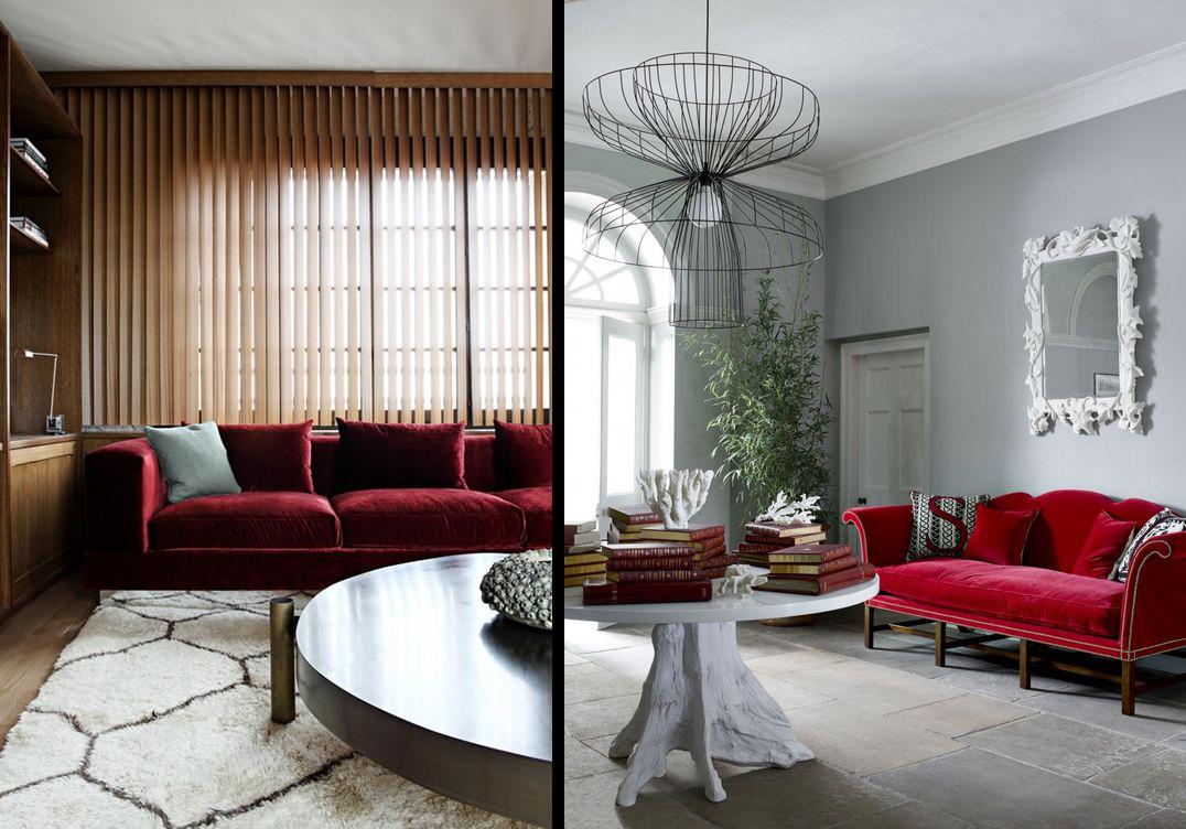 la fabrique d co canap en velours choisir son style. Black Bedroom Furniture Sets. Home Design Ideas