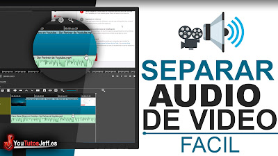 como separar audio de un video