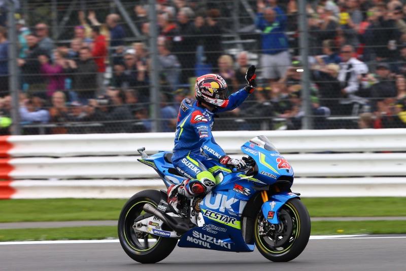 Apa sih rahasia Suzuki bisa finish pertama di seri MotoGP Silverstone 2016 ?