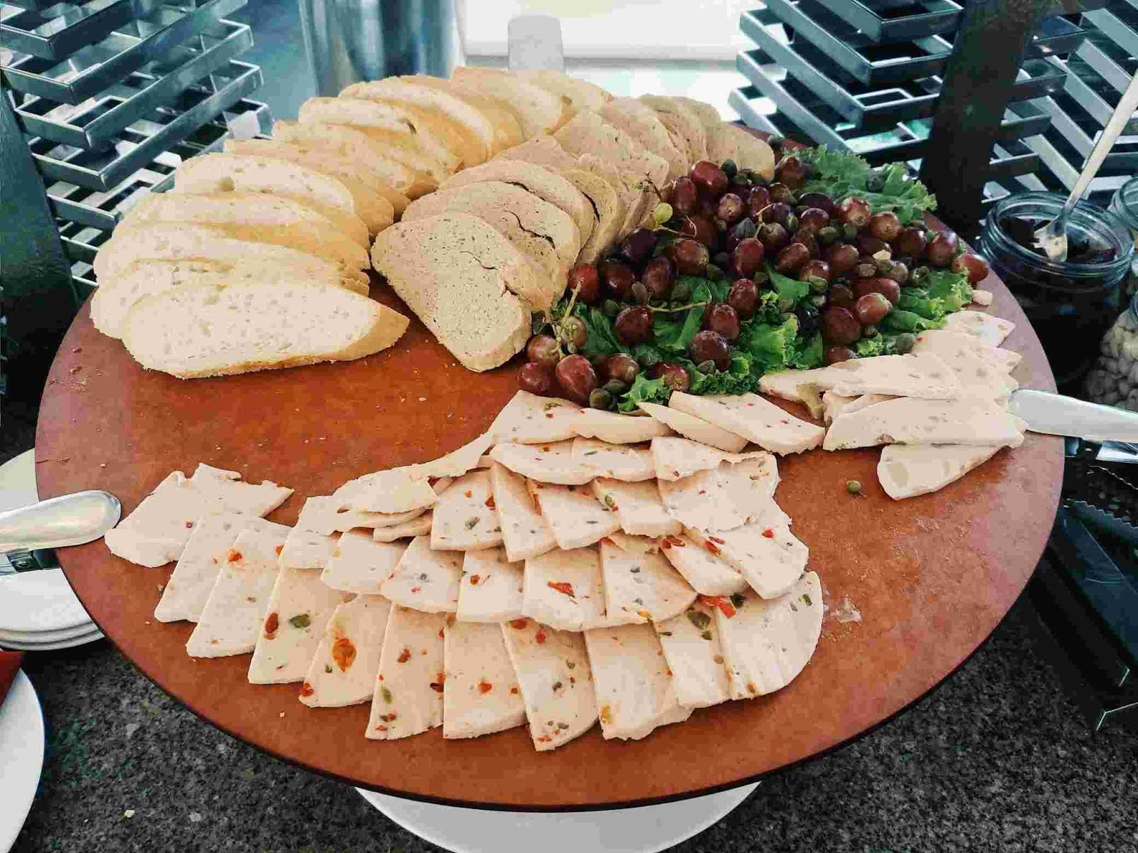 Cold cuts at Acaci Cafe in Acacia Hotel