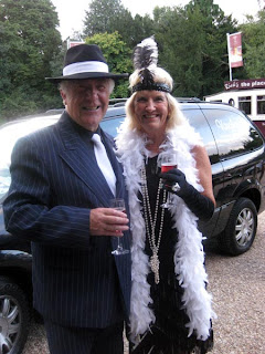Mary and Gordon in Fancy Dress