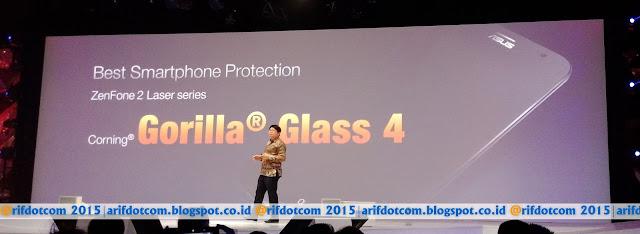 Zenfone 2 Laser smartphone termurah dengan gorilla glass 4
