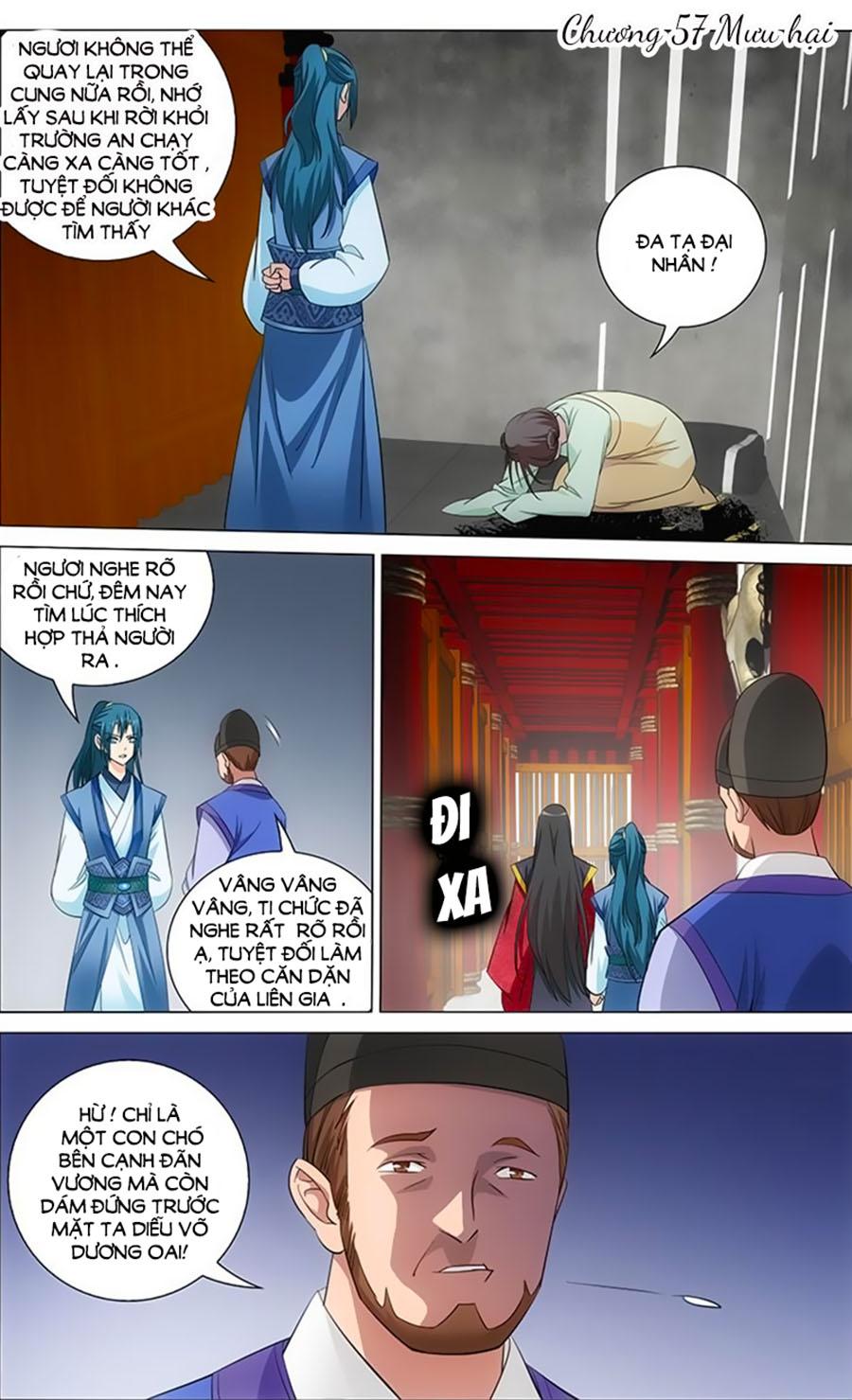 Vương Gia Không Nên A Chap 57 - Trang 1