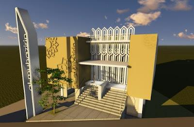 design masjid al-muhajirin bumi pasundan bandung