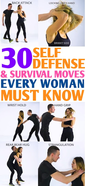 30 Self-Defense Moves & Survival Hacks Every Woman Should Know