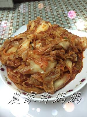 農家許媽媽素韓式泡菜